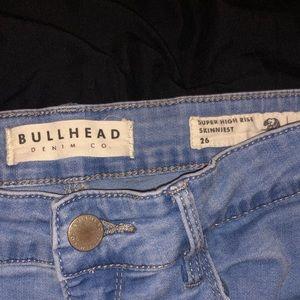 Bullhead High Rise Jeans
